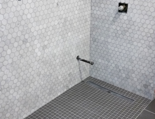 Zero Entry Steam Shower
